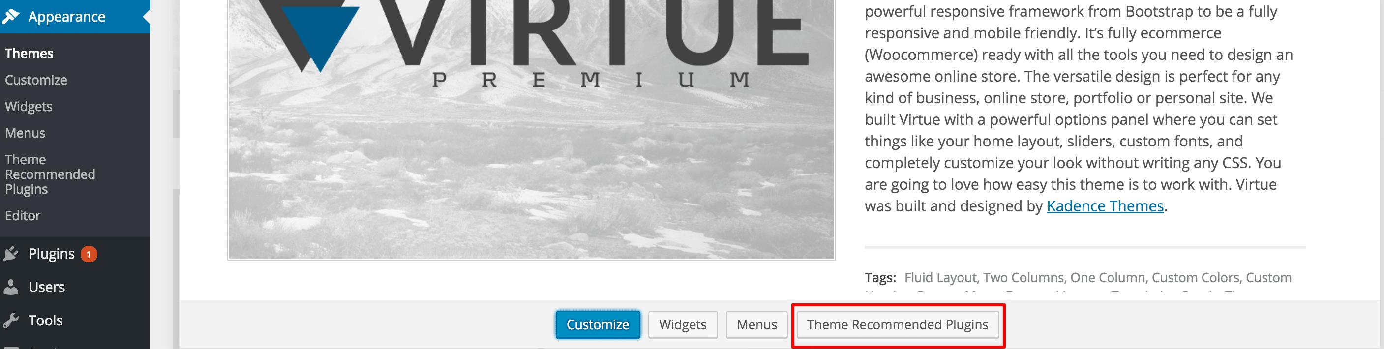 2.3 recommended plugins viatheme-min